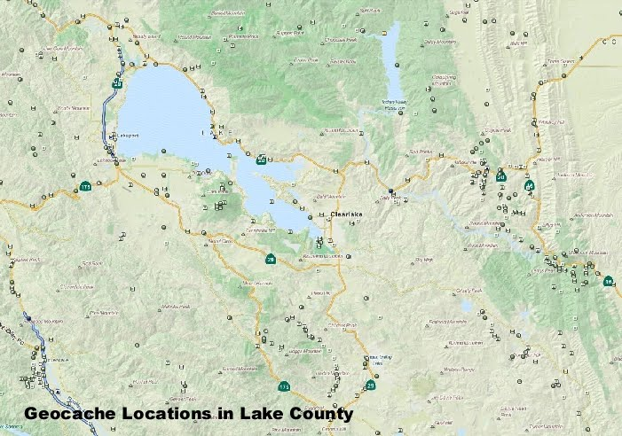 Geocaches in Lake County - Konocti Regional Trails on waypoint map, cache map, san diego county zip map, geocaching utah map,