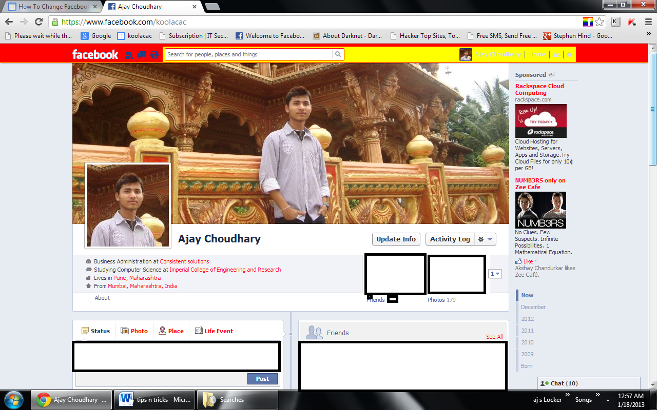 How To Change Color Of Facebook Page How to Change Facebook