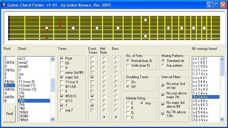 guitarchordfinder - kovacsgabor73
