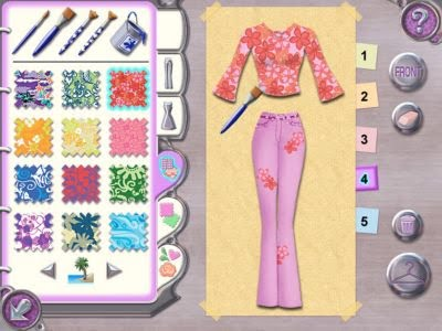 Fashion designer video game 49