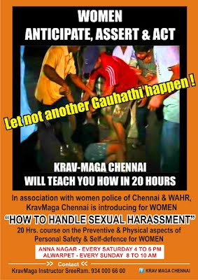 handle sexual-harassment - 20 hours course - Chennai
