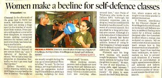 Corporate workshops on women self defense