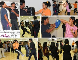 Purple, Anna Nagar women self defense