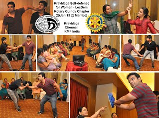 rotary chennai women self defence workshop