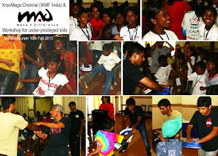 M.A.D self-defense workshop for kids