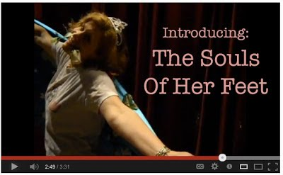 introducing the souls of her feet