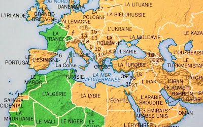 Le monde francophone resources to help translate the francophone list of countries where french is the official language gumiabroncs Images