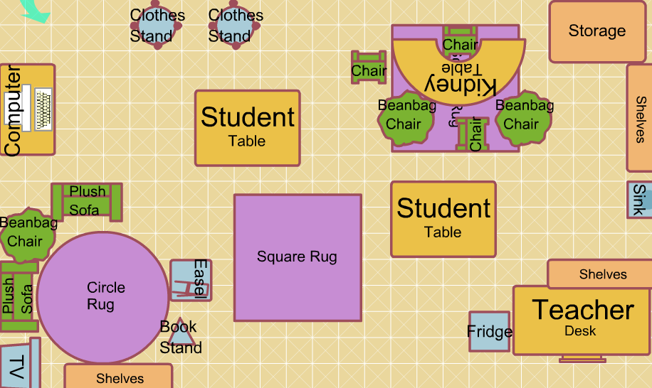 First Grade Classroom Floor Plan Ms M S Classroom Design Free