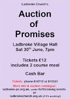 auction of promises poster