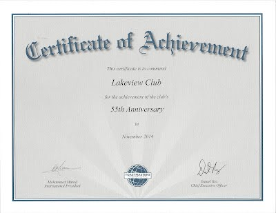 lakeview toastmasters club