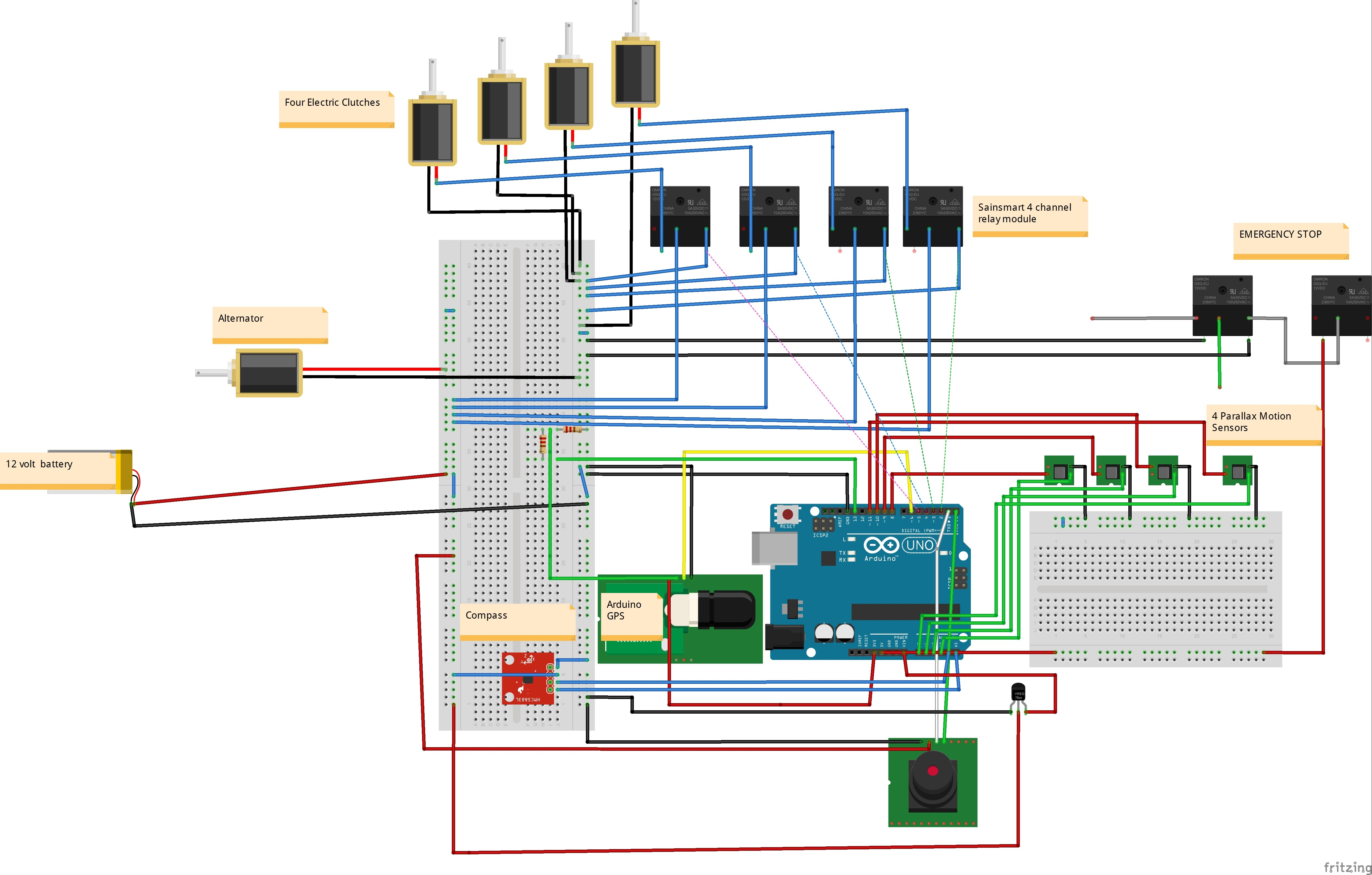 Wiring Diagram Land Drone Team Six Sainsmart 8 Channel Relay