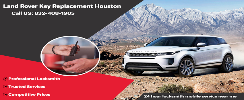 Land Rover Key Replacement Houston