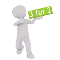 Lands End to John O'Groats Books Man with 3 for 2 offer