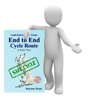 Lands End to John O'Groats Cycle Route - Book Cover