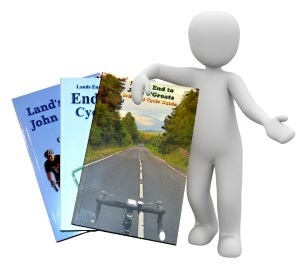Lands End to John O'Groats Cycle Guide Books for Sale
