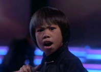 Ernie Reyes Jr. in The Last Dragon 1985