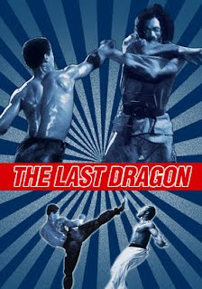 The Last Dragon Rare Movie Poster