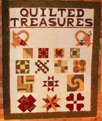"""Quilted Treasures"" quilt picture"