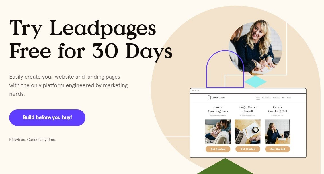 LeadPages Free Trial - Get 14 Days or 30 Days Free LeadPages Trial