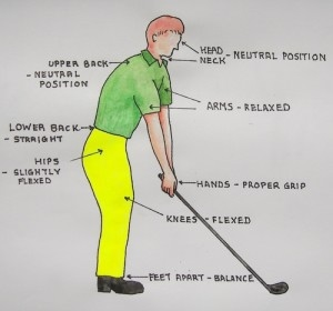 How to Make a Proper Golf Stance pictures