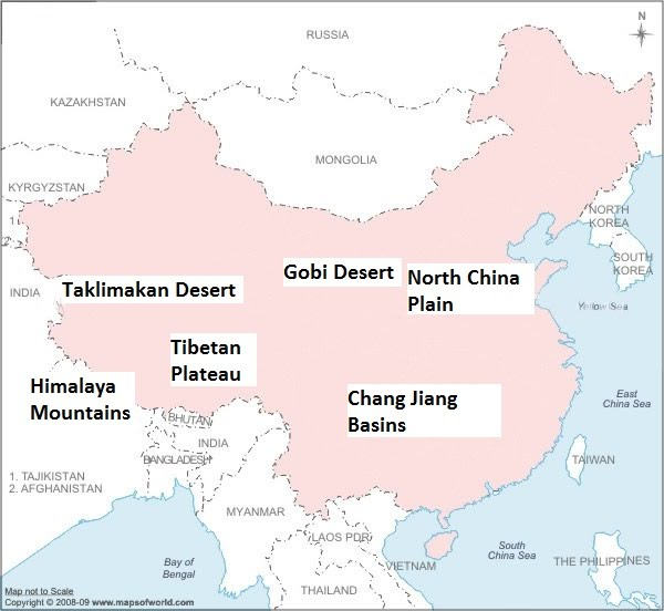 labeled map of ancient china Spring History Project labeled map of ancient china