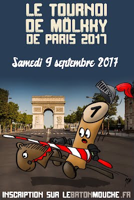 Inscription au Tournoi de Paris 2017