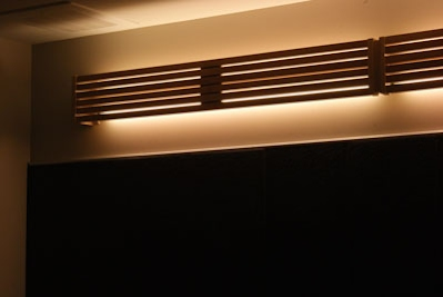 Wood trim valances led valances markham custom lighting let us design the valance that will add appeal to your rooms decor mozeypictures Choice Image