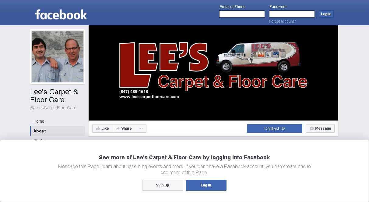 Lee's Carpet Floor Care - Facebook