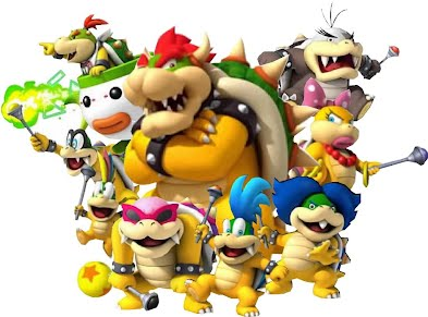 Les personnages mario bros - Personnage mario kart 7 ...