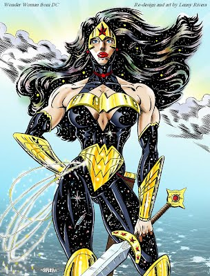 wonder woman cosmic