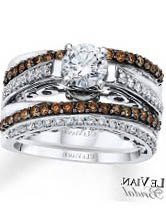 Mens Chocolate Diamond Wedding Bands