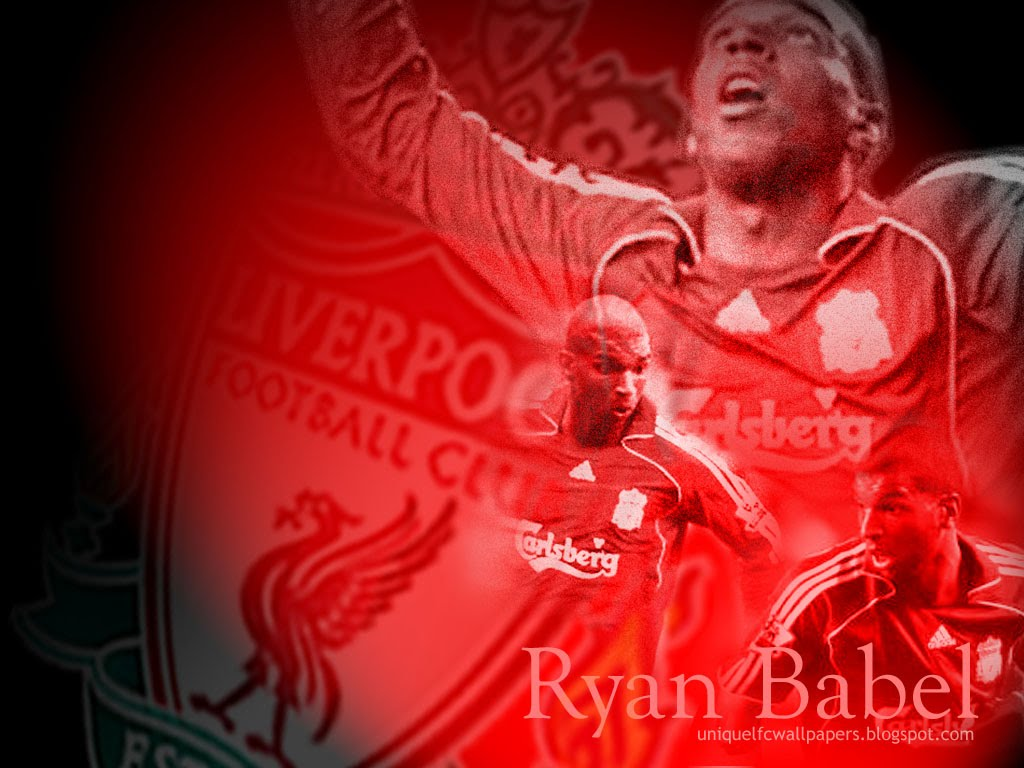 Liverpool FC Ryan Babel Desktop Background