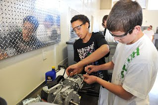 Automotive Engineering do you have same subjects in college as high school