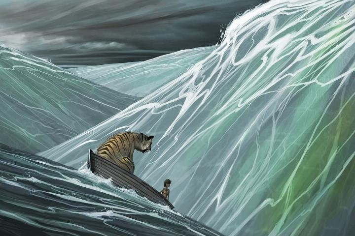 The ending life of pi for Life of pi ending