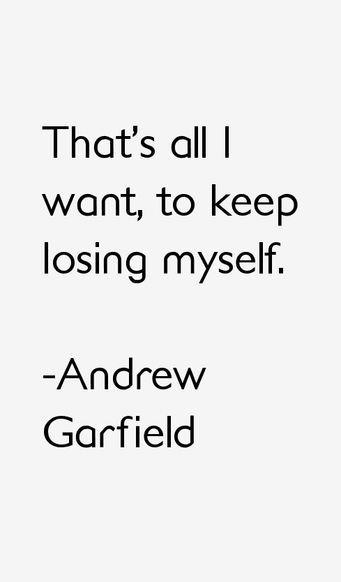 Thats All I Want To Keep Losing Myself Life Quotes For Teens
