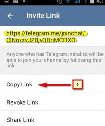 Force to join oublic channel via link telegram. telegram bot create channel.