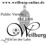 Public Viewing EM 2008 in Weilburg