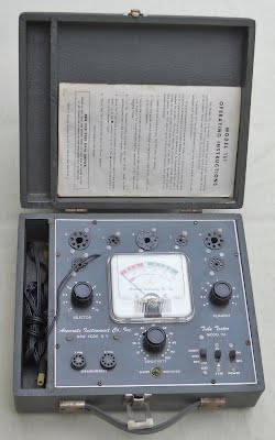 Pictures of Tube Tester Mod  151 - vacuum tubes