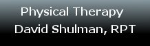 Physical Therapy with David Shulman, RPT