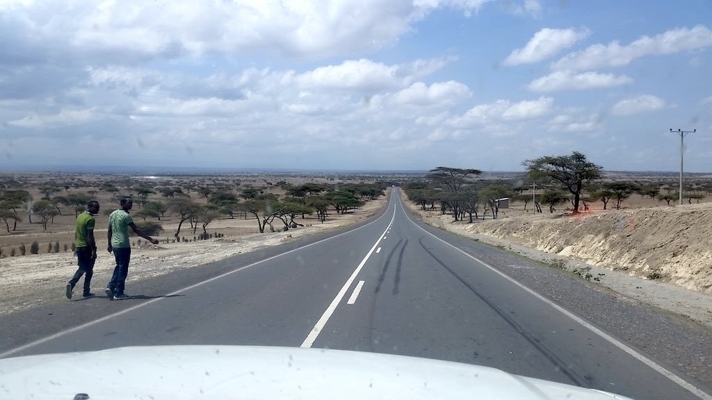 Descending into the Great Rift Valley