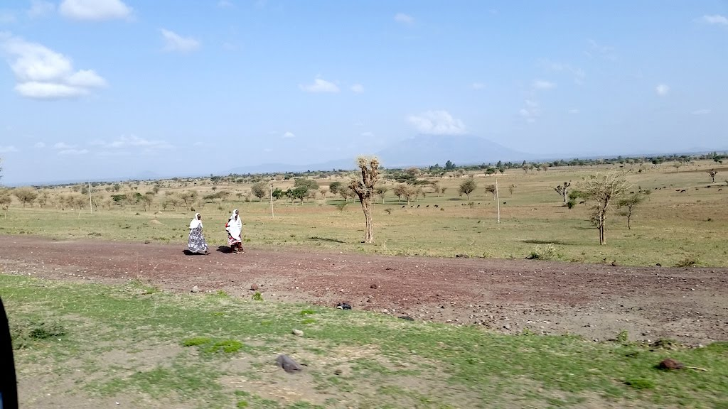 Some of the landscape on road to Hawassa