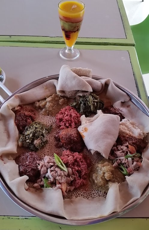 Special platter of all the meat dishes