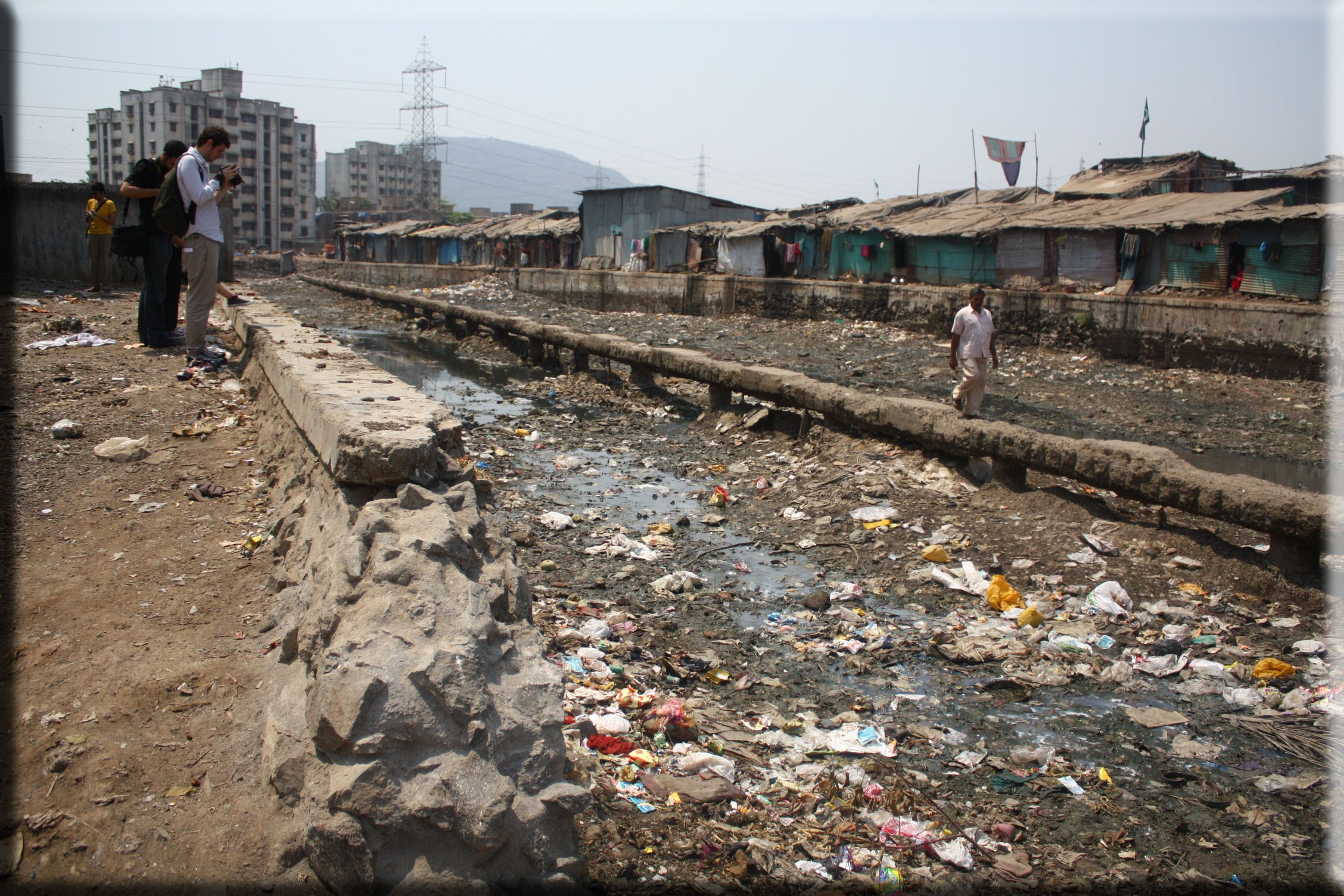 Health and Sanitation - Living Conditions in Indian Slums