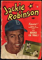 Jackie Robinson Comic Book Front Cover