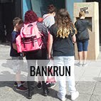lara luna bartley, bank run, plymouth art weekender 2017, cash machine, armada way