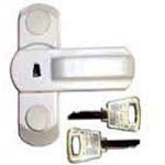 PVC door and window bolts secure