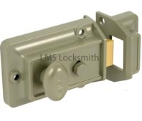 Yale night latch, locksmith lock install