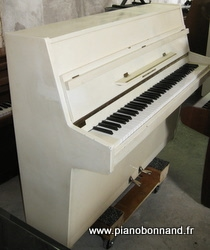 piano zimmermann blanc a louer, occasion