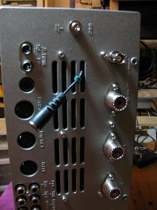 Yaesu FT-2000 Panadapter, using the Softrock 9 Lite, SDR receiver