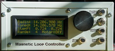 To automatically tune a Magnetic Loop Antenna - Loftur E  Jónasson